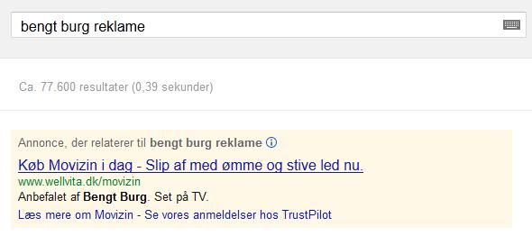 AdWords Bengt Burg Wellvita