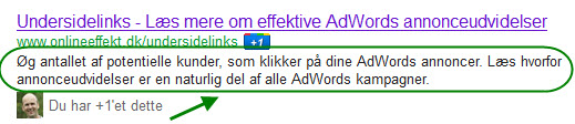 Meta description eksempel